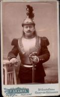 CDV, Militaire, 10e Regiment De Cuirassier, Photo P. Grampa Camp De Sathonay     (bon Etat) - Guerre, Militaire