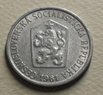 1961 - Tchécoslovaquie - Czechoslovakia - 10 HALERU - KM 49.1 - Czechoslovakia