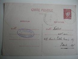 Gencay Horoplan Cachet Horodateur  Obliteration Sur Lettre - Marcophilie (Lettres)