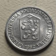 1962 - Tchécoslovaquie - Czechoslovakia - 10 HALERU - KM 49.1 - Czechoslovakia