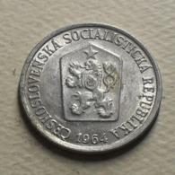 1964 - Tchécoslovaquie - Czechoslovakia - 10 HALERU - KM 49.1 - Czechoslovakia