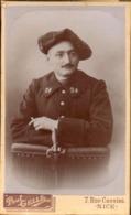 CDV, Militaire, 24e Regiment De Chasseur, Photo Paul Gellé Nice      (bon Etat) - Krieg, Militär