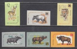 Vietnam Nord 1964 - Wild Animals, Mi-Nr. 319/24, Imperf., MNH** - Vietnam