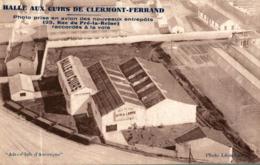HALLE AUX CUIRS DE CLERMONT FERRAND VUE AERIENNE - Clermont Ferrand