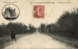 CIRCUIT DE LA SARTHE 1906 CE VIBRAYE A LAMNAY - Frankrijk