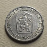 1965 - Tchécoslovaquie - Czechoslovakia - 10 HALERU - KM 49.1 - Czechoslovakia