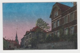 AB810 - ALLEMAGNE - LEBACH - (Bez. Trier) - Burgermeisterei - Blick Zur Kirche - Circulée 1919 - Allemagne