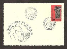 4 051088Inauguration Du Mémorial De La DéportationEpinal11/06/1984 - Guerre Mondiale (Seconde)