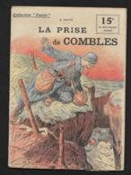 La Prise De Combles Somme / Arrondissement De Péronne / Collection Patrie 1917 WW1 Guerre 1914-1918 - Combles