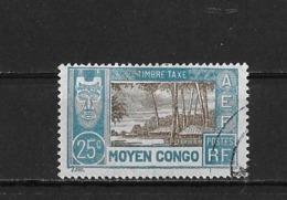 Congo Yv. Taxe 15 O. - Usados