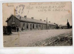 7544 GOUVY Gare Feldpost Timbrée 15-8-14 - Gouvy