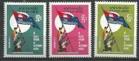 "Khmere YT 321 à 323 "" Anniversaire "" 1972 Neuf** - Cambodge"