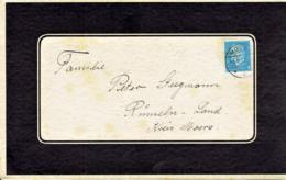 Deutsches Reich - Umschlag Echt Gelaufen / Cover Used (A887) - Briefe U. Dokumente