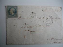 2981 PETIT CHIFFRE Saint Andre De Sangons Boite Rurale F Cachet Type 15 - Marcophilie (Lettres)