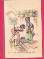 BOURET Germaine----Bois Pas Tout ! Pense Un Peu Aux Grenouilles - Bouret, Germaine
