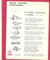 """VETEMENTS PROFESSIONNELS """" AU MOLINEL """" Chez """" GAUTHIER-CORAIL """" 16-18 Rue LAFAYETTE A LONS-LE-SAUNIER - Autres"""