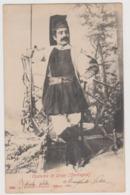Orani (NU), Uomo In Costume Armato Di Fucile  - F.p. -  1901 - Nuoro