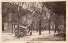 Cp GRANS 13 - 1940 - Le Cours (Automobile)  Edit. Bonnet - Autres Communes