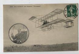 JULLEROT Sur Biplan Farman - 218 ELD - ....-1914: Précurseurs