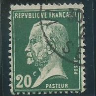 FRANCE: Obl., N° YT 172, TB - 1922-26 Pasteur
