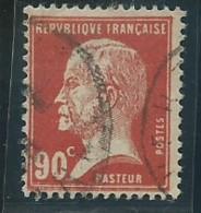 FRANCE: Obl., N° YT 178, TB - 1922-26 Pasteur