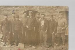 """Carte Photo """"souvenir De Notre Captivité à ESSENBACH 1915-1916"""" - Guerre 1914-18"""