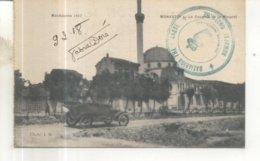Campagne D'Orient : Macédoine 1917 : Monastir, La Coupole Et Le Minaret (Cachet Militaire) - War 1914-18