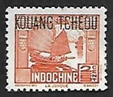 KOUANG TCHEOU   1937  -   Y&T  99 -   NEUF* - Kouang-Tchéou (1906-1945)