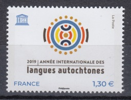 1.- FRANCE 2019 UNESCO - INTERNATIONAL YEAR OF AUTOCONE LANGUAGES - UNESCO