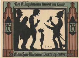Billets De Nécessité Allemand 1921, 75 Pfennig - 1918-1933: Weimarer Republik