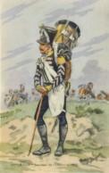 Illustrateur Histoire Militaire Toussaint, 10ème Léger, Tambour De Chasseurs, 1812, N° 342 - Andere Illustrators