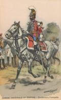 Illustrateur Histoire Militaire Toussaint, Garde Impériale II ème Empire, Carabiniers, Trompette, N° 433 - Andere Zeichner