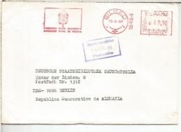 BILBAO CC CON FRANQUEO MECANICO METER DIPUTACION FORAL DE VIZCAYA - 1931-Hoy: 2ª República - ... Juan Carlos I