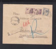Romania Registered Cover 1946 Turnu-Magurele To Germany - Storia Postale Seconda Guerra Mondiale