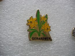 Pin's Des Jonquilles De GERARDMER Dans Les Vosges - Pin's