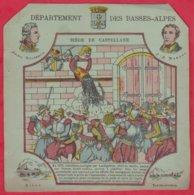 Protége Cahier Ancien Fin XIXéme Collection Serie INSTRUCTIVE  Dep Des BASSES-ALPES  ( Siége De Castellane ) - Protège-cahiers