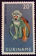 Surinam Suriname 1969 Animal Crocodile Singe Tatou Monkey Yvert 496-98 ** MNH - Surinam
