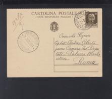 Cartolina 1932 Castelammare Per La Camera Dei Deputati - 1900-44 Vittorio Emanuele III