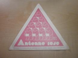 Autocollant Ancien ANTENNE ROSE Sur Air Libre (100.3MHz) - Sammelbilder, Sticker