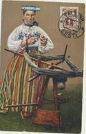 78-295 Estonia Types National Costumes Trachten - Estonie