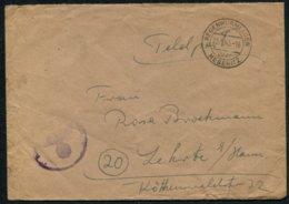 1945 Germany Regenwurmlager Mesenitz Feldpost Brief / Underground Fortress Fieldpost Cover - Germany