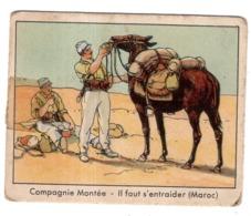 "GOMME A MACHER GLOBO ""GONFLABLE"" LA LEGION ETRANGERE N°45 COMPAGNIE MONTEE  6.5 X 8 Cm - Werbepostkarten"
