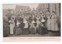 5.Hamme  Overstrooming Van 12 Maart 1906 - De Damen Van Het Komiteit Van Liefdadigheid - Hamme