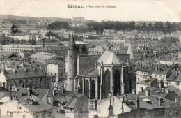 CP 88 Vosges Epinal Vue Prise Du Château Testart - Epinal