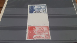 LOT 476840 TIMBRE DE FRANCE NEUF** LUXE N°565/566 - Frankreich