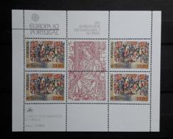 PORTUGAL : BF 36 ** - 1982 - Europa - Blocks & Kleinbögen