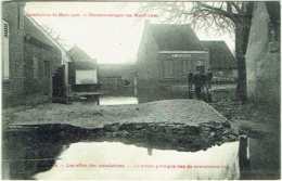 Hamme. Inondations 1906. Overstroomingen. - Hamme