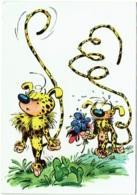 Illustrateur Franquin. Vie Et Moeurs Des Marsupilamis. Publicité Corman, Knokke-le-Zoute - Bandes Dessinées