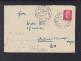 Dt. Reich Brief 1930 Weltreise Kreuzer Emden - Duitsland