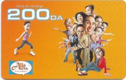 Algeria - Allo OTA - Carte De Recharge, GSM Refill 200DA, Used - Algeria